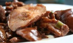 carne funghi