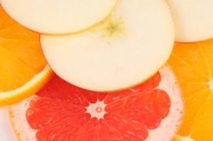 composta di frutta al tè